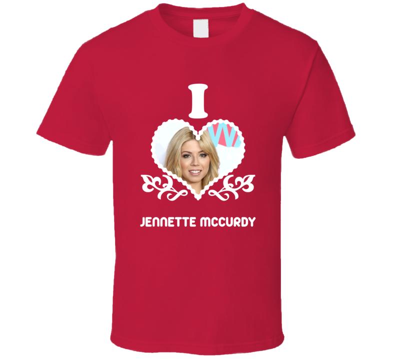 Jennette McCurdy I Heart Hot T Shirt