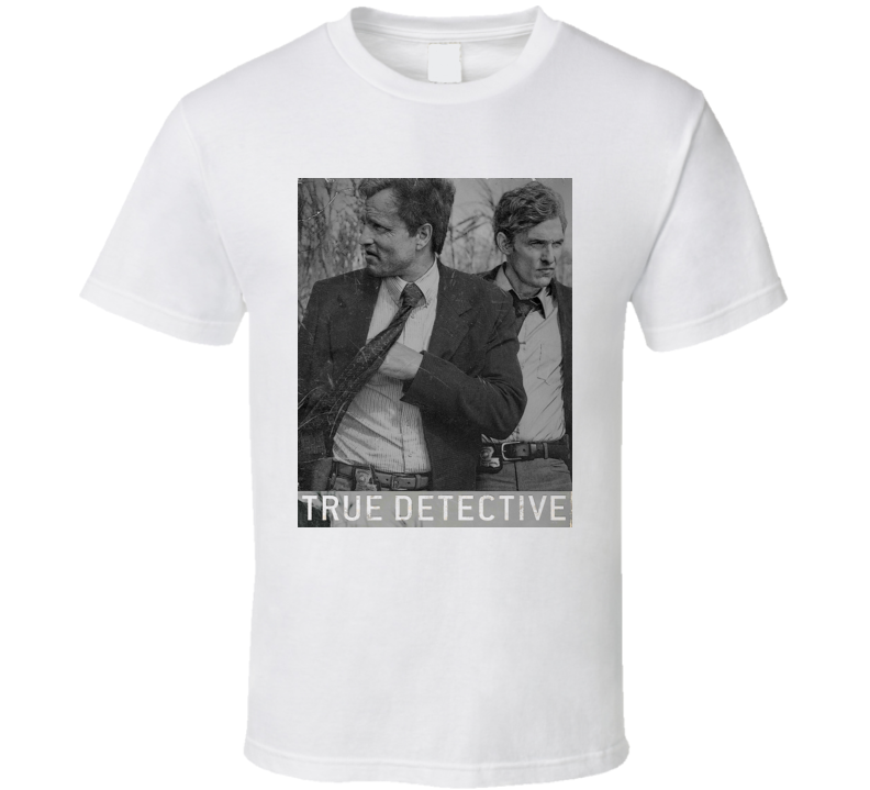 True Detective Black and White Poster T Shirt