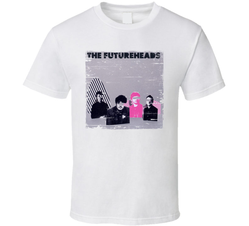 The Futureheads The Futureheads Album Cover Distressed Image T Shirt