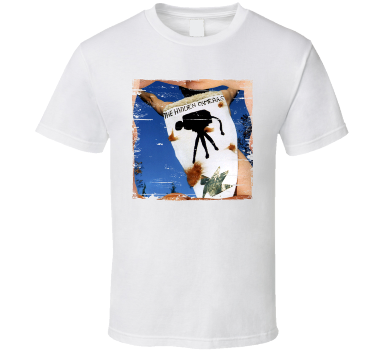 The Hidden Cameras The Smell Of Our Own Album Cover Distressed Image T Shirt