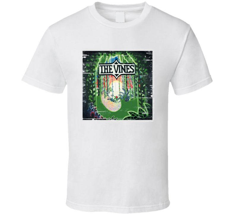The Vines Higly Evolved Album Cover Distressed Image T Shirt