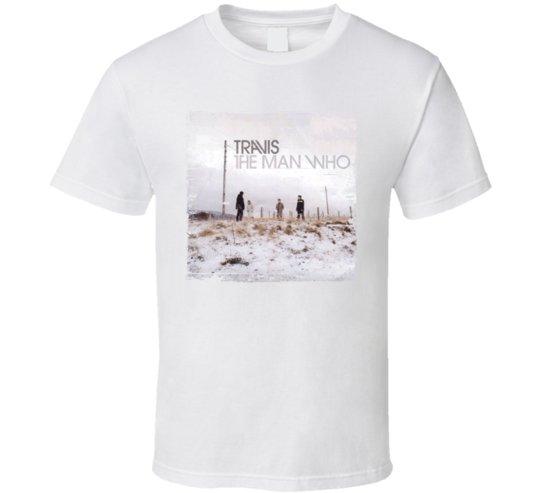 Travis The Man Who Album Cover Distressed Image T Shirt