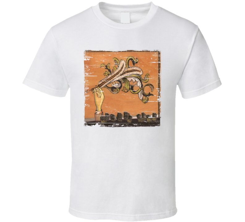 Arcade Fire Funeral Album Cover Distressed Image T Shirt