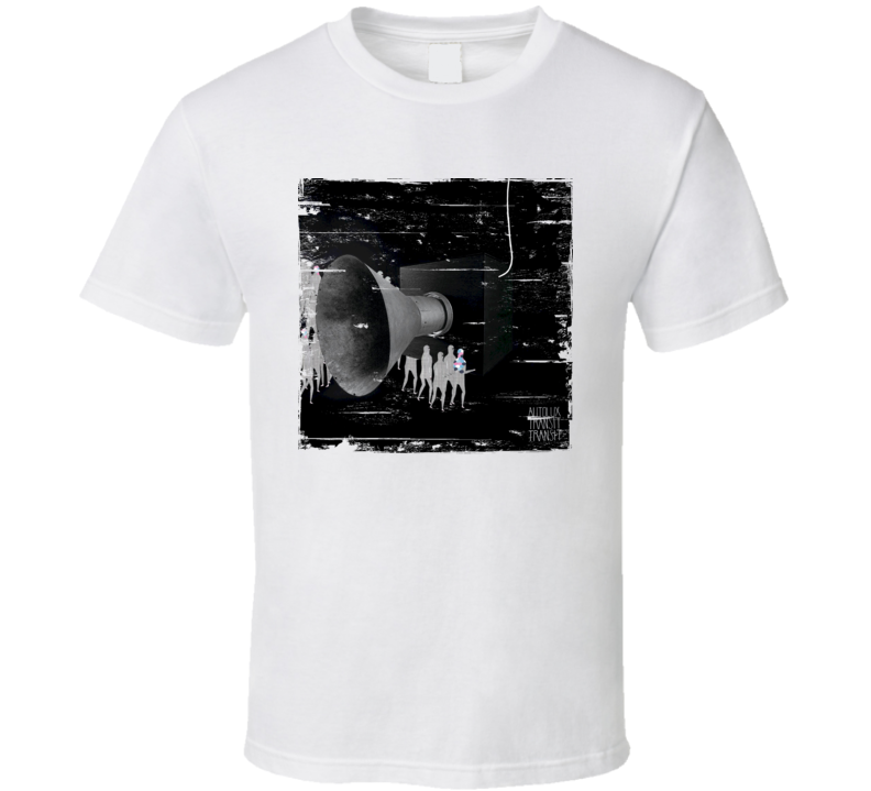 Autolux Future Perfect Album Cover Distressed Image T Shirt