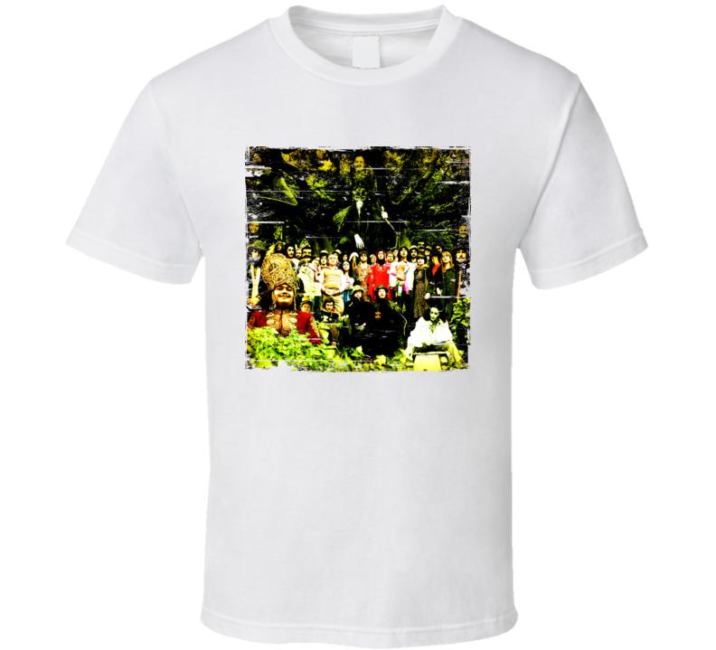 Devendra Banheart Cripple Crow Album Cover Distressed Image T Shirt