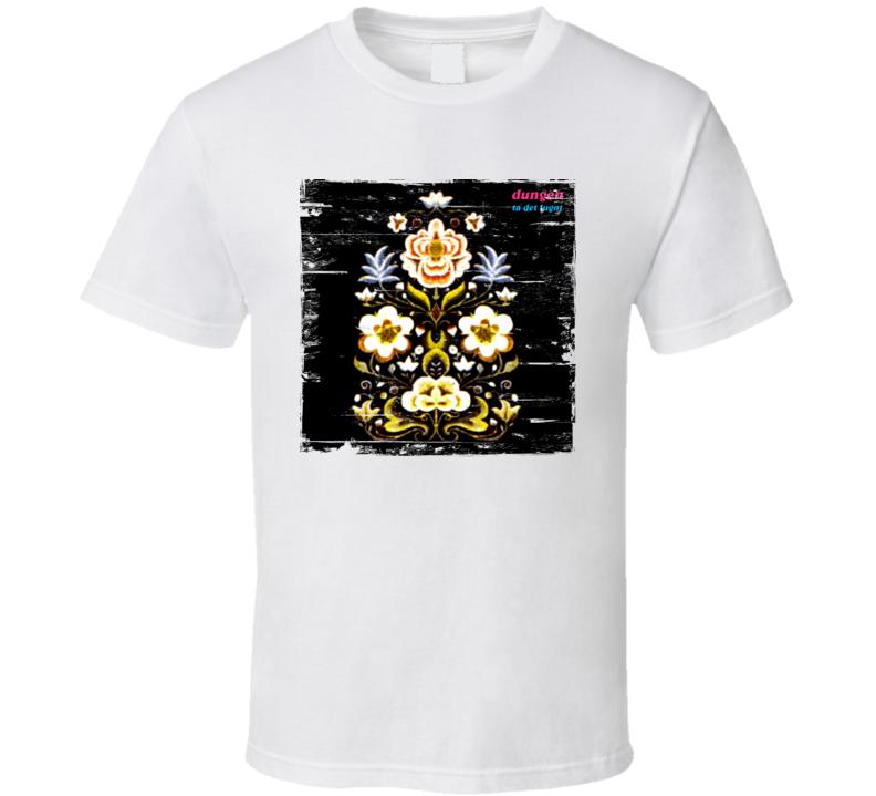 Dungen Ta Det Lungt Album Cover Distressed Image T Shirt