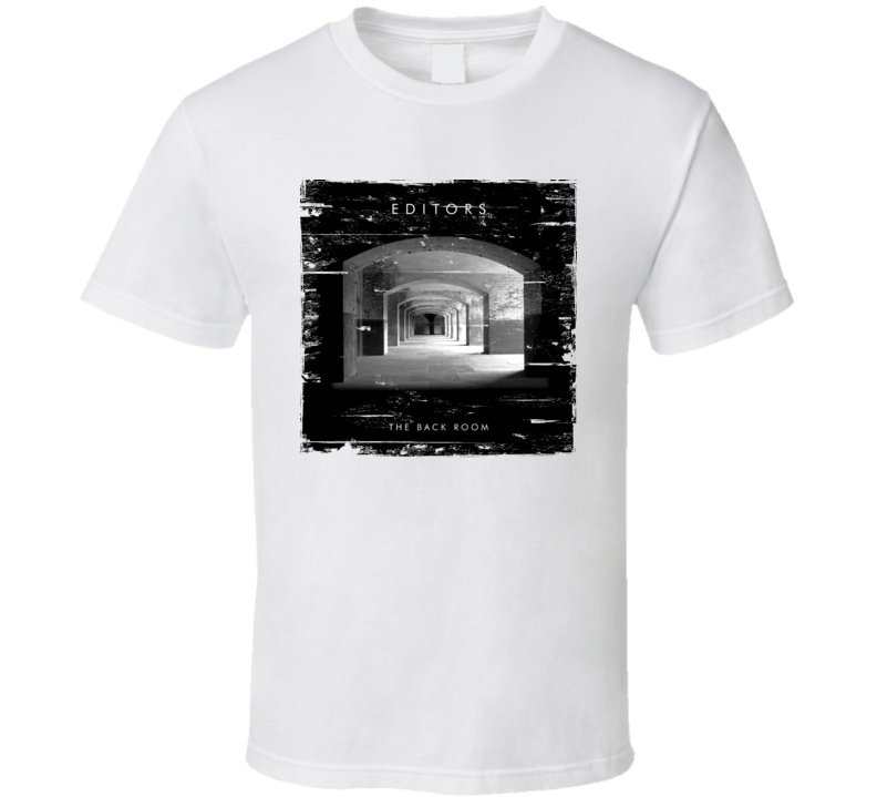 Editors The Back Room Album Cover Distressed Image T Shirt