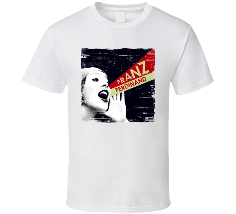 Franz Ferdinand You Could Have It So Much Better With Album Cover Distressed Image T Shirt