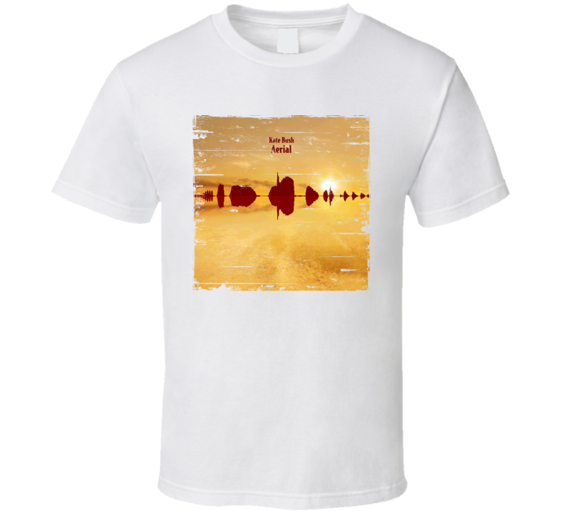 Kate Bush Aerial Album Cover Distressed Image T Shirt