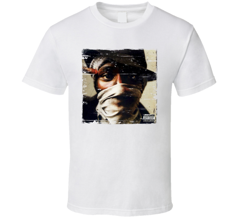 Mos Def The New Danger Album Cover Distressed Image T Shirt