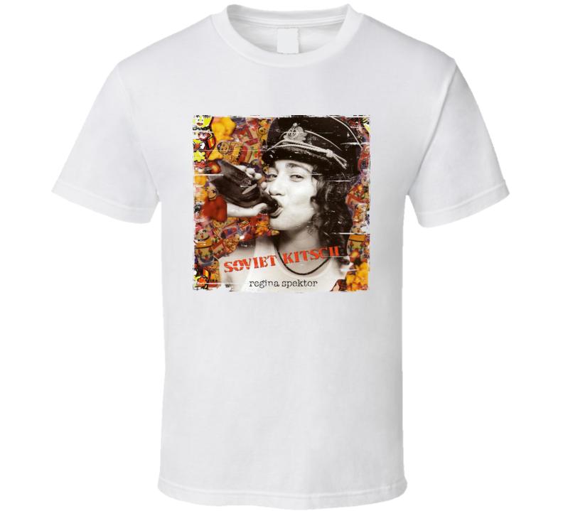 Regina Spektor Soviet Kitsch Album Cover Distressed Image T Shirt