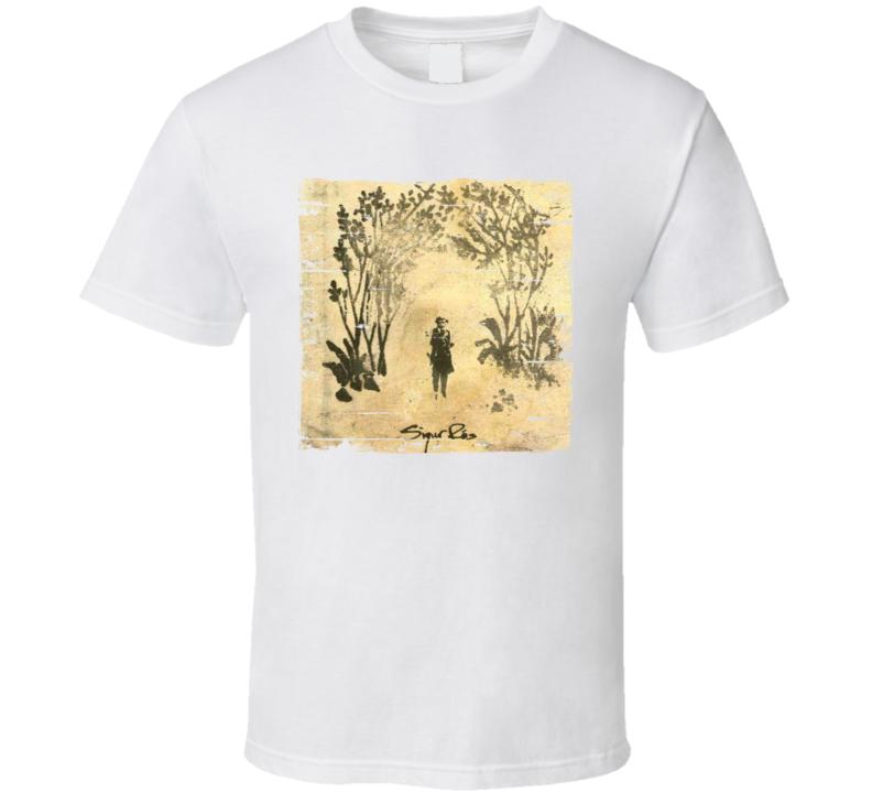 Sigur Ros Takk Album Cover Distressed Image T Shirt
