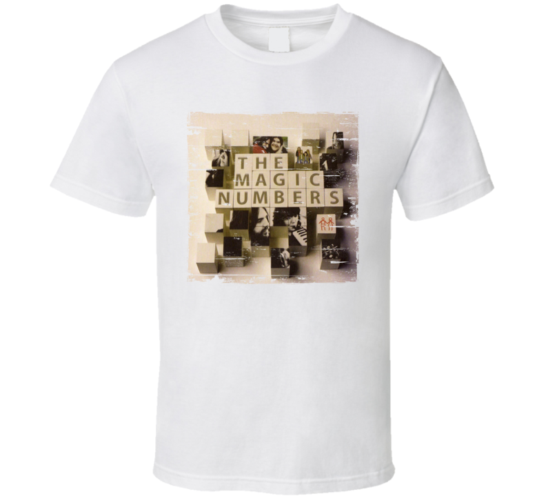 The Magic Numbers The Magic Numbers Album Cover Distressed Image T Shirt