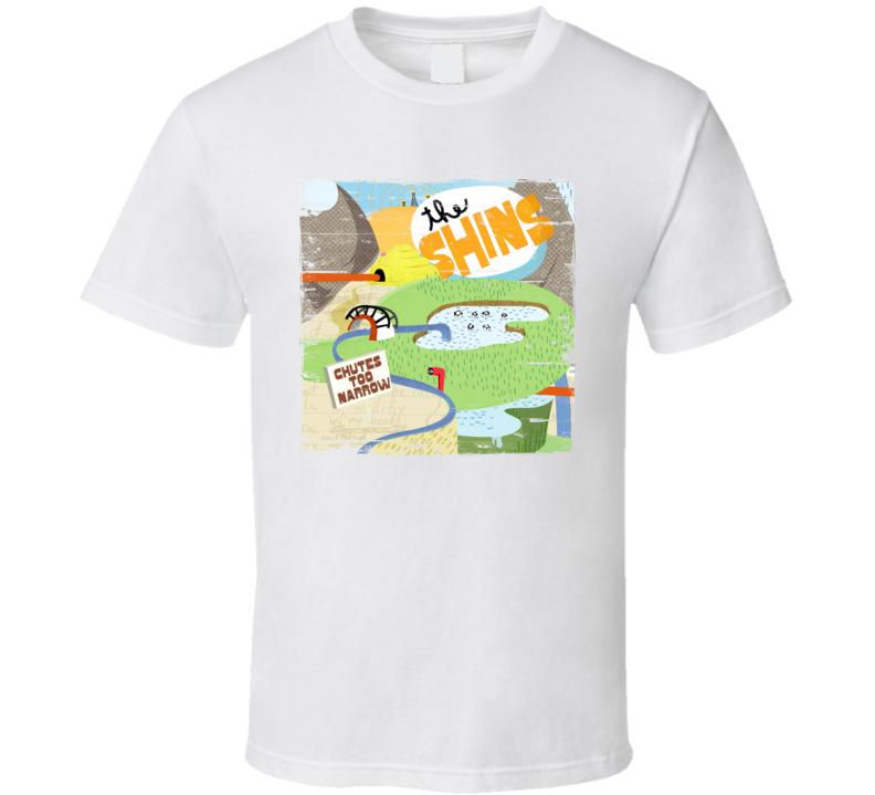 The Shins Chutes Too Narrow Album Cover Distressed Image T Shirt