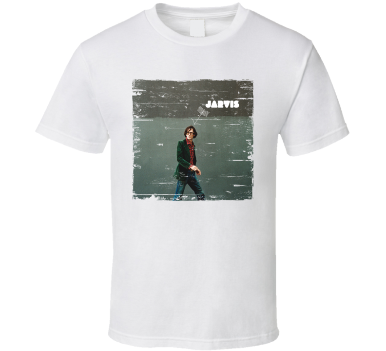 Jarvis Cocker Jarvis Album Cover Distressed Image T Shirt