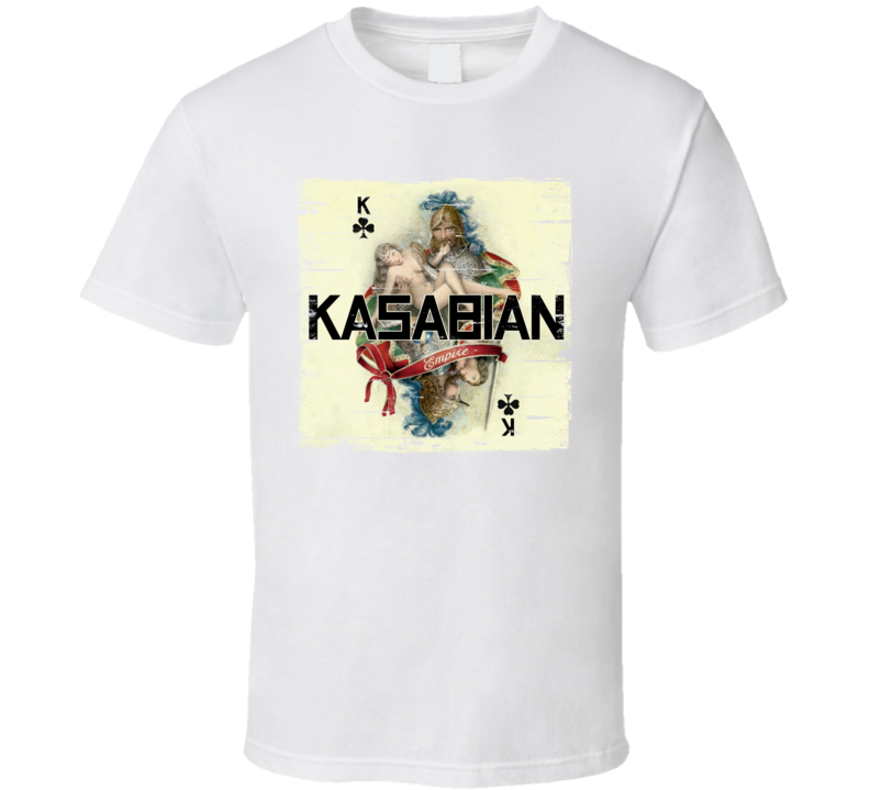 Kasabian Empire Album Cover Distressed Image T Shirt