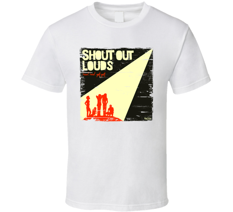 Shout Out Loud Howi Howi Gaff Gaff Album Cover Distressed Image T Shirt