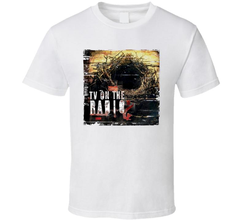 TV On The Radio Return To Coocke Mountain Album Cover Distressed Image T Shirt