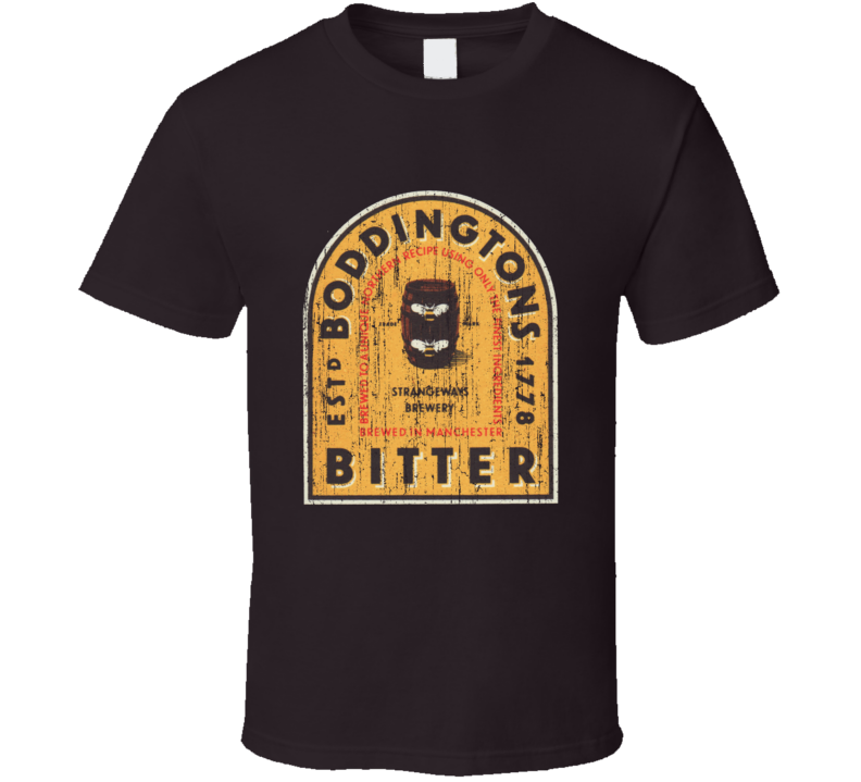 Boddingtons Imported Beer Distressed T Shirt