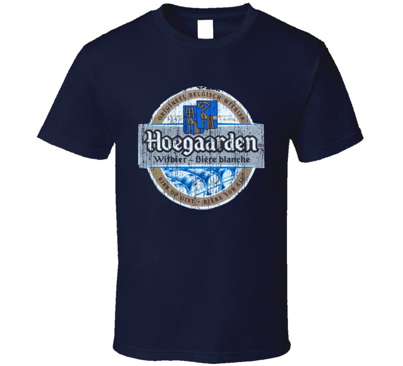 Hoegaarden Beer Worn Image T Shirt