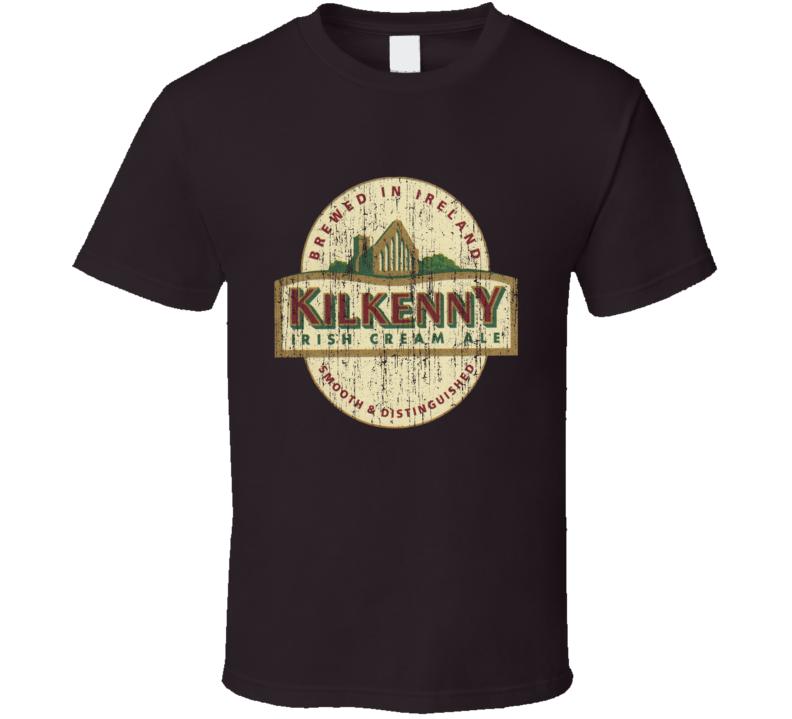 Kilkenny Beer Worn Image T Shirt