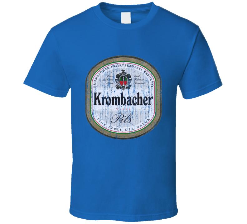 Krombacher Beer Worn Image T Shirt