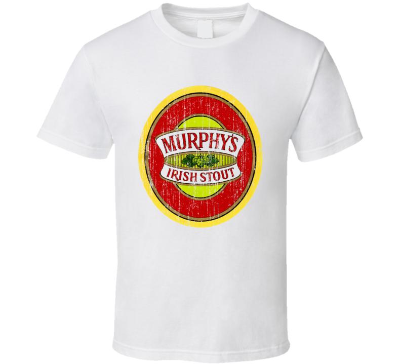 Murphys Irish Stout Beer Worn Image T Shirt