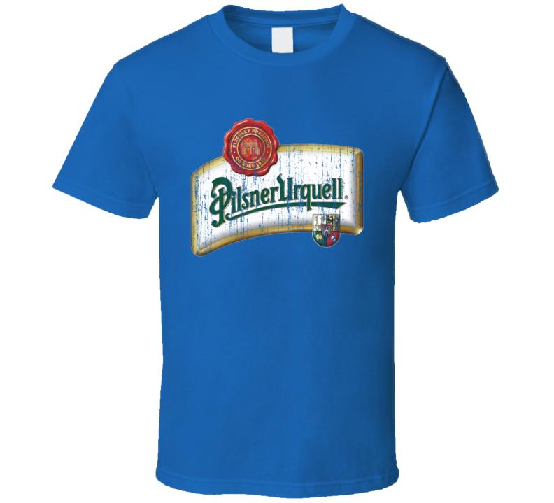Pilsener Urquell Beer Worn Image T Shirt