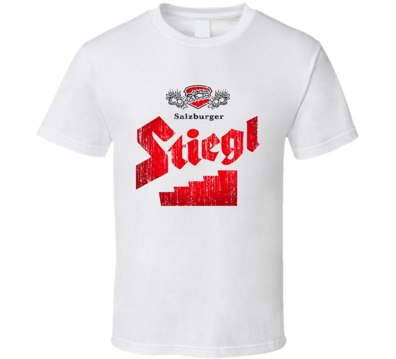 Stiegl Beer Worn Image T Shirt