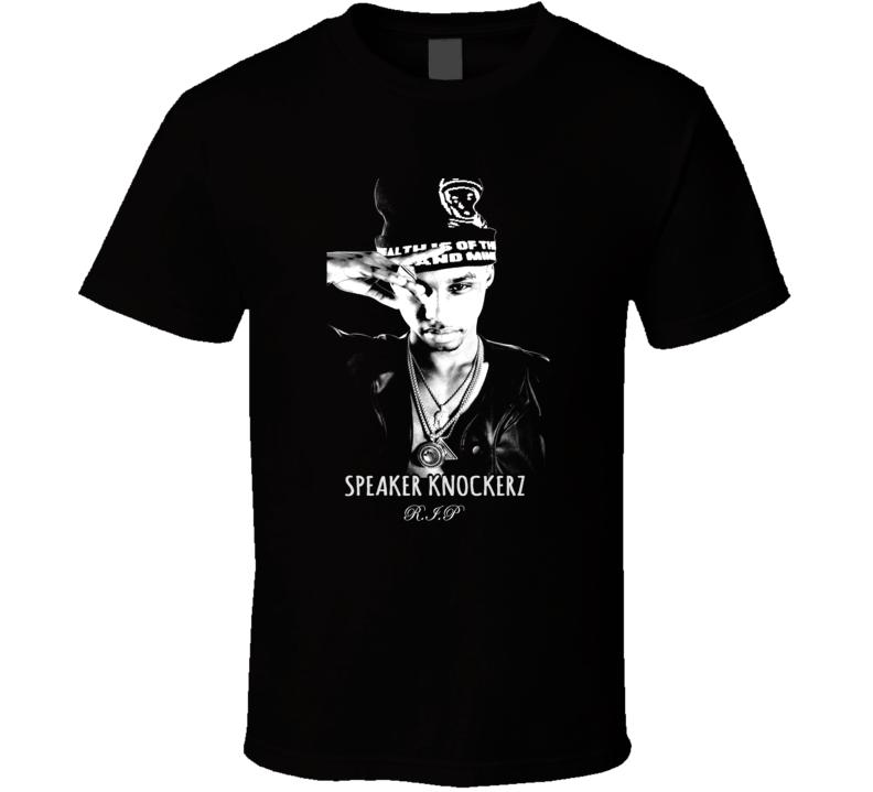 Speaker Knockerz Derek McAllister Tribute T Shirt
