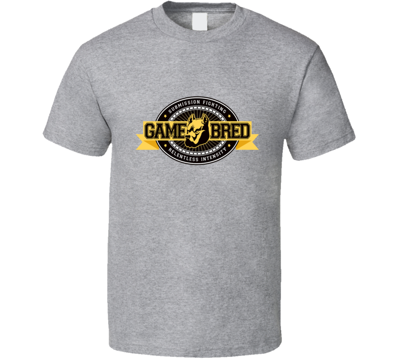 Game Bred MMA T Shirt