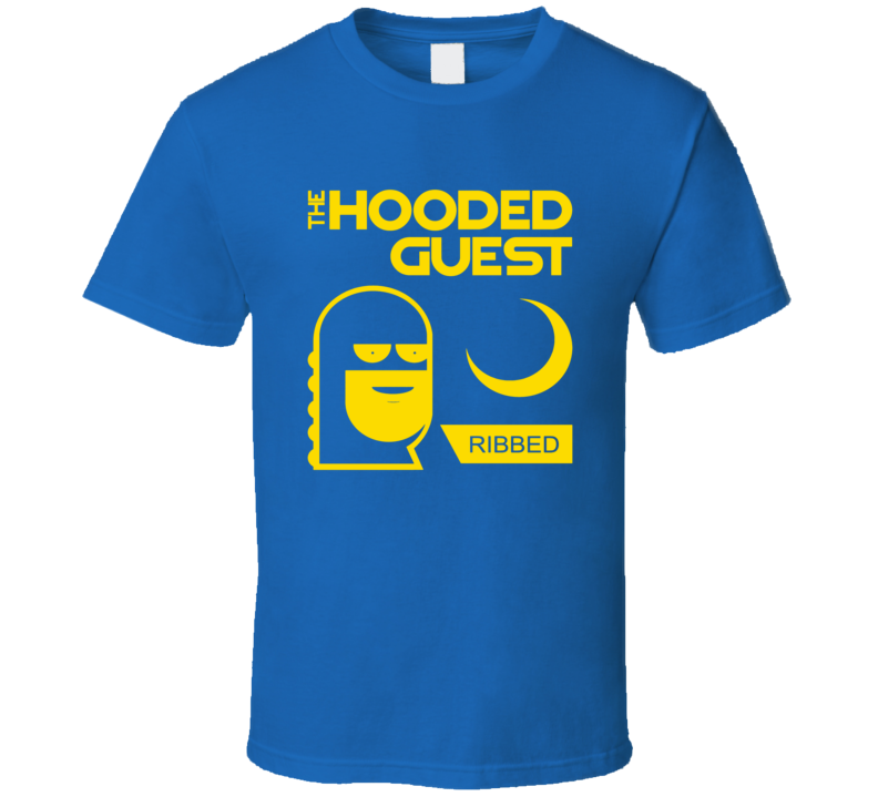 Anchorman 2 Hooded Guest Condoms T Shirt