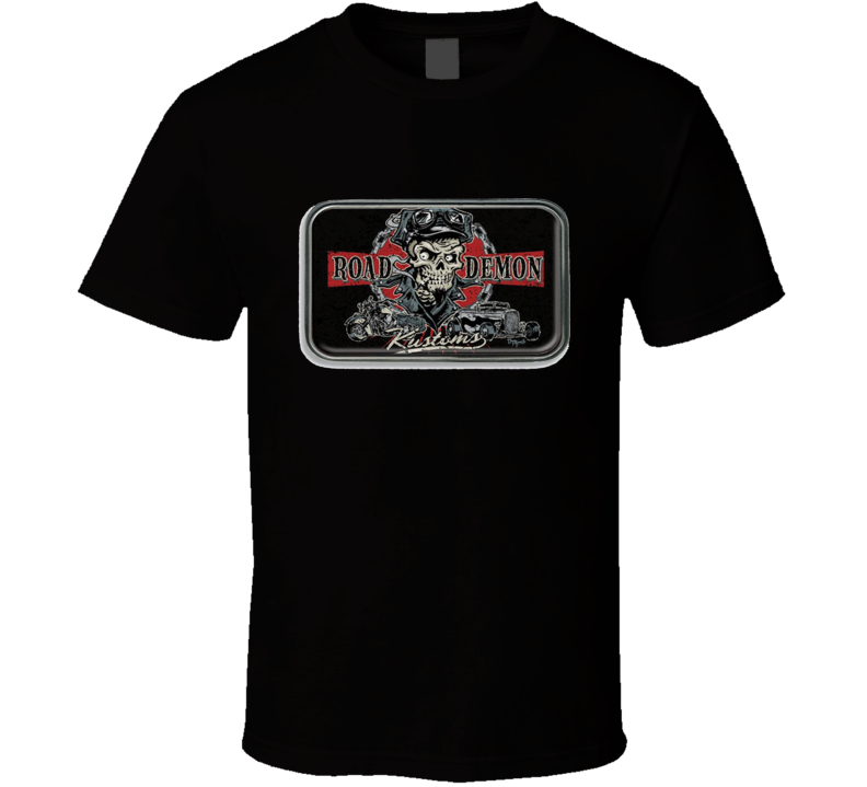 Road Demon Kustoms Hot Rod T Shirt