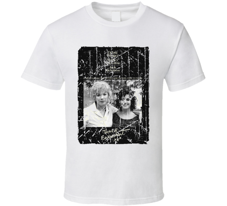 Terms Of Endearment Movie Poster Retro Aged Look T Shirt