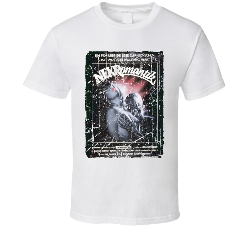 Nekromantik Movie Poster Retro Aged Look T Shirt