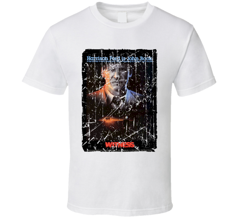 Witness Movie Poster Retro Aged Look T Shirt