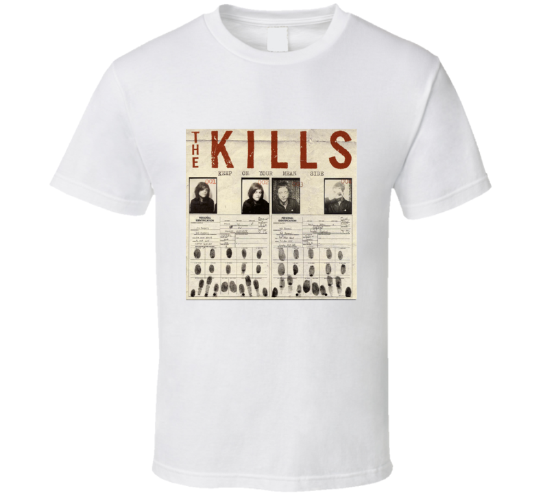 The Kills Album Tee T Shirt