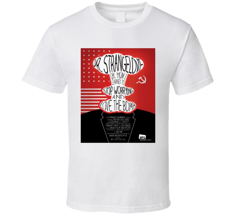 Dr Strangelove Movie Poster Tee T Shirt