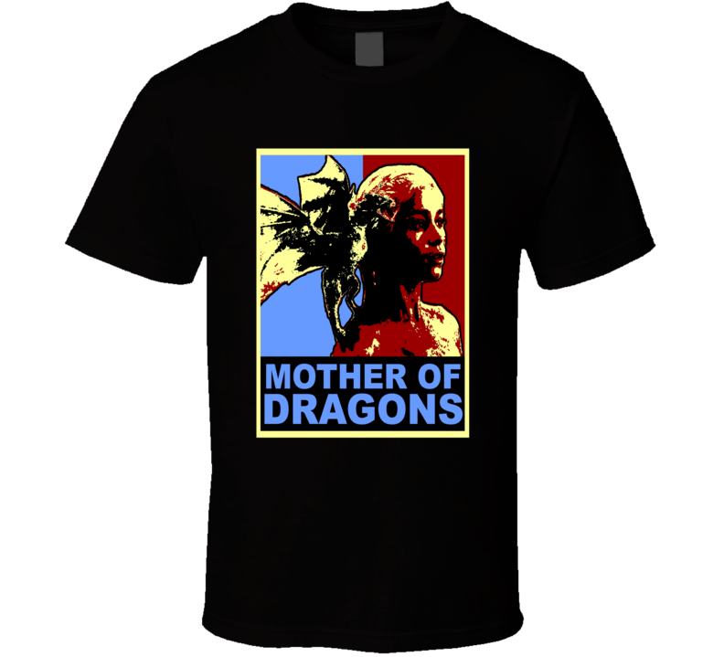 Khaleesi Mother Of Dragons T Shirt