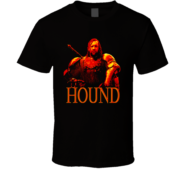 Game of Thrones Sandor Clegane The Hound T Shirt