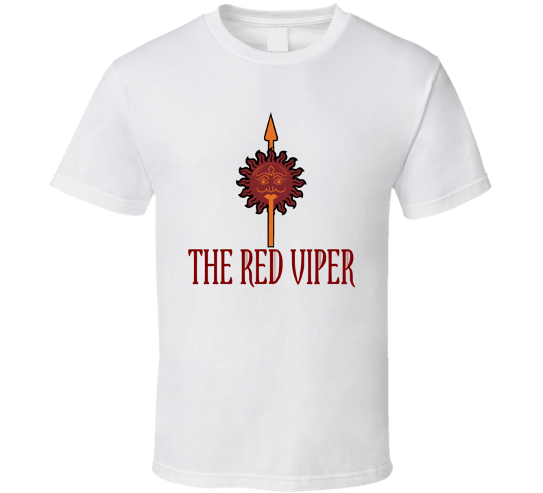 Oberyn Martell The Red Viper T Shirt