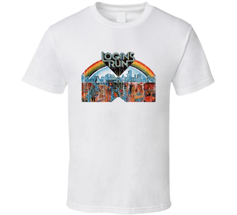 Logan's Run Movie Vintage Distressed Image T Shirt
