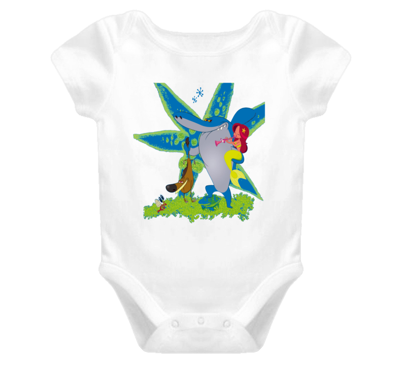 Zig and Sharko Baby Onesie T Shirt