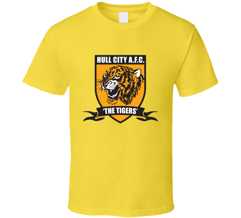 Hull City AFC Tigers T Shirt