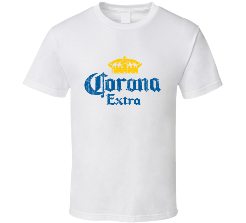 Corona Beer Distressed Image Vintage T Shirt