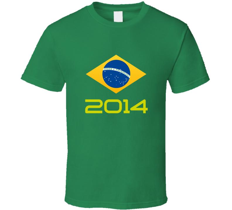 World Cup Brasil 2014 T Shirt