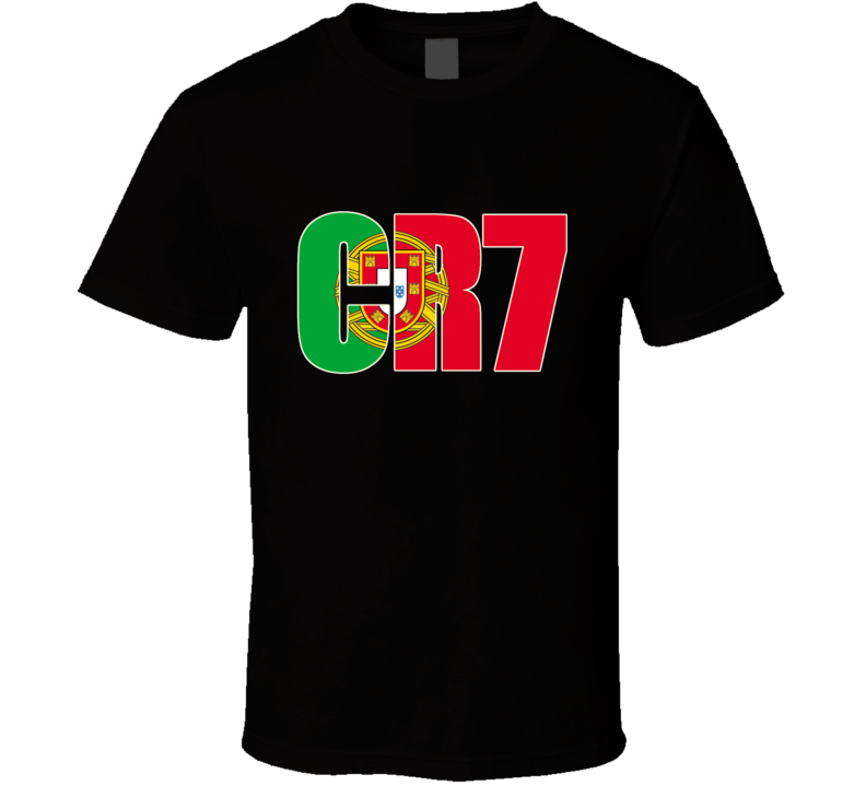 Cristiano Ronaldo CR7 Portugal World Cup T Shirt