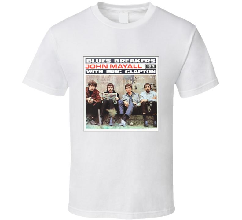 John Mayall Bluesbreakers Album Cover Tee T Shirt