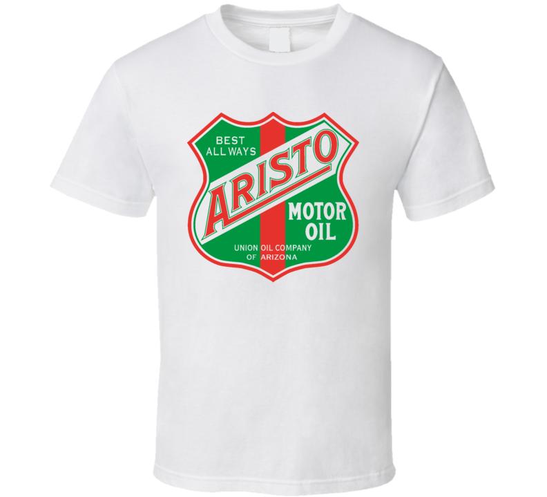 Aristo Motor Oil Vintage Garage T Shirt
