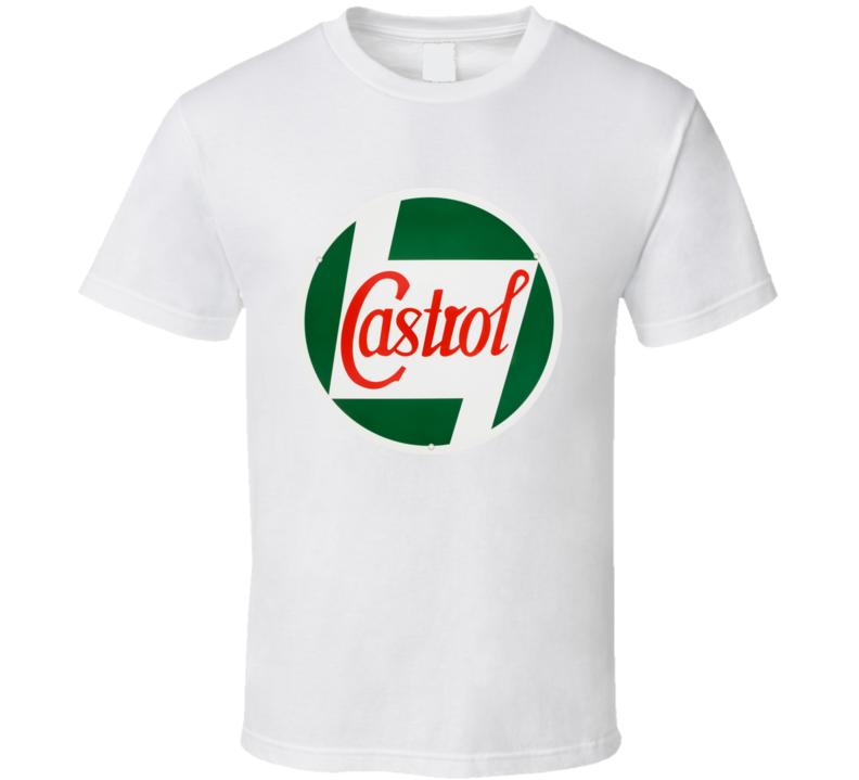 Castrol Oil vintage hot rod T shirt